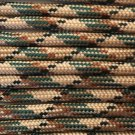 PARACORD 550 LB PARACHUTE CORD MIL SPEC TYPE III **WITH FREE BUCKLES** (50FT CAMOUFLAGE)