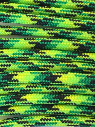 PARACORD 550 LB PARACHUTE CORD MIL SPEC TYPE III **WITH FREE BUCKLES** (GECKO 50FT)