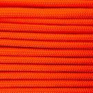 PARACORD 550 LB PARACHUTE CORD MIL SPEC TYPE III **WITH FREE BUCKLES** (NEON ORANGE 50FT)