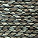PARACORD 550 LB PARACHUTE CORD MIL SPEC TYPE III **WITH FREE BUCKLES** (TITANIUM 50FT)