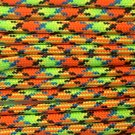 PARACORD 550 LB PARACHUTE CORD MIL SPEC TYPE III **WITH FREE BUCKLES** (VIRUS 50FT)