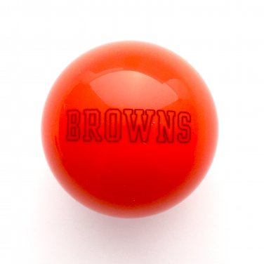 NFL Billiard Ball * All teams and colors * Great for replacement (Cleveland Browns Orange)