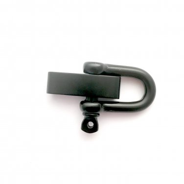 Black (5mm) Adjustable �D� Shackle -1