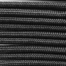 PARACORD 550 LB PARACHUTE CORD MIL SPEC TYPE III (BLACK 10FT)