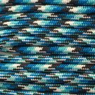 PARACORD 550 LB PARACHUTE CORD MIL SPEC TYPE III (BLUE SNAKE 5FT)