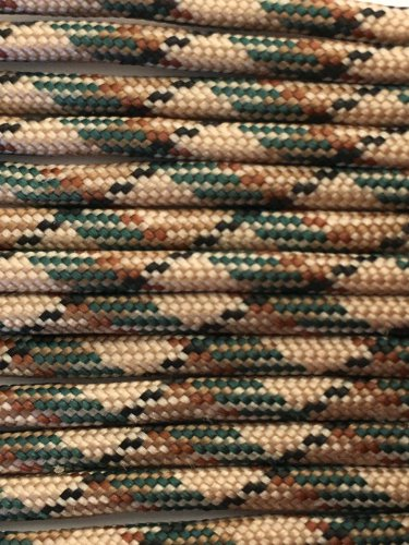PARACORD 550 LB PARACHUTE CORD MIL SPEC TYPE III (CAMO 1FT)