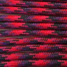 PARACORD 550 LB PARACHUTE CORD MIL SPEC TYPE III (CANDY 1FT)