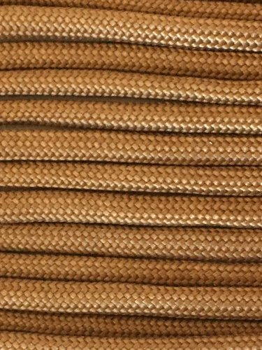 PARACORD 550 LB PARACHUTE CORD MIL SPEC TYPE III (COYOTE 10FT)