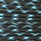PARACORD 550 LB PARACHUTE CORD MIL SPEC TYPE III **WITH FREE BUCKLES** (LIGHTNING 5FT)