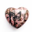 Rocknob Butterfly Heart Slick Rock Gear Shift Knob