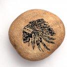 Rocknob Moab Indian Chief Skull Gear Shift Knob