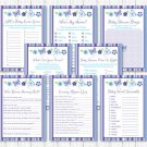 Lavender Butterfly Garden Baby Shower Games Pack - 8 Printable Games #A218