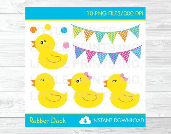 Rubber Duck Clipart #A345
