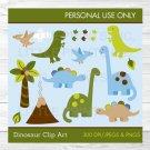 Dinosaur Clipart #A132