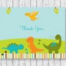 Baby Dinosaurs Thank You Card Printable #A264