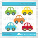 Colorful Cars Clipart #A263