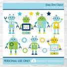 Robots Baby Bots Clipart #A252