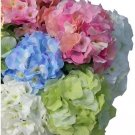 High simulation artificial silk flower Hydrangea,Wedding flowers,10pieces/lot,free shipping