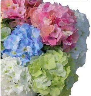 High simulation artificial silk flower Hydrangea,Wedding flowers,10pieces/lot,free shipping
