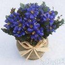 10 PCS,Christmas simulation silk flower/artificial flower,Beauty chrysanthemum including the pot