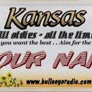 BullsEye Radio Plate