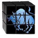 The Official BullsEye Radio Rubik's Cube