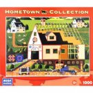 HOMETOWN COLLECTION Amish Barn Building 1000 Piece Puzzle