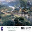 THOMAS KINKADE Painter of Light EMERALD VALLEY 1000 Piece Jigsaw Puzzle by ceaco