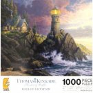 THOMAS KINKADE Painter of Light ROCK OF SALVATION 1000 Piece Jigsaw Puzzle by ceaco