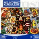 The Saturday Evening Post Summertime 1000 Piece Puzzle by Norman Rockwell