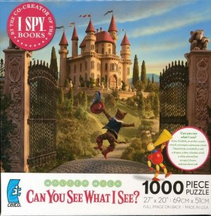"Walter Wick ""Can You See What I See? PUSS IN BOOTS"" 1000 Pieces PUZZLE"