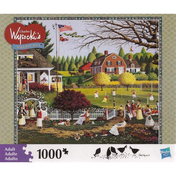 Charles Wysocki Americana Jigsaw Puzzle LOVE 1000 Piece