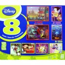 Disney 8-in-1 Multipack Puzzles Box set Featuring Mickey and Minnie in Venice and others