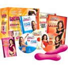 Dance Off The Inches: Latin Party Pack (DVD Box Set with Sculpting Bars)
