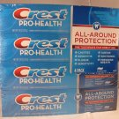 ( 4 ) 7.8oz 221g  Crest Pro Health Pro-Health Toothpaste Fluoride