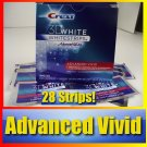Crest 3D White Advanced Vivid Whitestrips, 28-Count Box