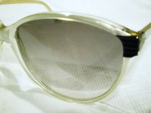 VINTAGE ROCHAS PARIS SUNGLASSES HAND MADE INFRANCE