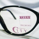 VINTAGE CARL ZEISS EYEGLASSES GREEN BLACK 56X14X135