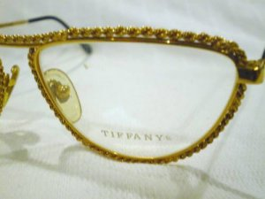 VINTAGE SOLOIST OF TIFFANY EYEGLASSES 23KGP 57-17-135