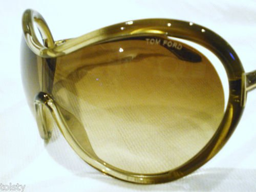 NEW Authentic TOM FORD Sunglasses Dakota TF95 Champagne