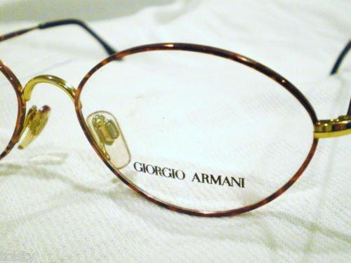 VINTAGE GIORGIO ARMANI EYEGLASSES COOPER GOLD  MOD.221