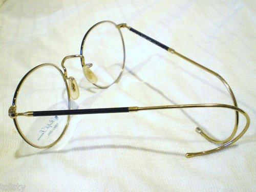VINTAGE POLO CLASSIC110/CT   EYEGLASSE  BLACK GOLD