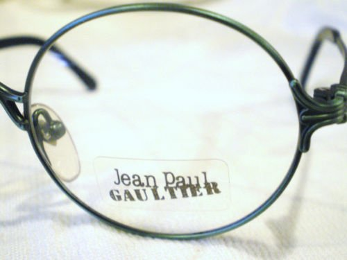 Vintage JEAN PAUL GAULTIER JPG EYEGLASSES FOREST GREEN