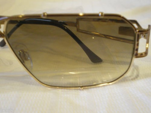NEW CAZAL 9001 SUNGLASSES GOLD BROWN LEOPARD GERMANY