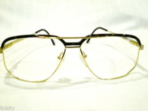 NEW  EYEGLASSES HIGH FASHION AVIATOR TORTOISE GOLD SPRING HINGES 59-17-140