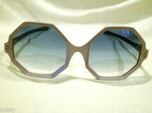 VINTAGE RIVIERA OPTICAL OCTAGON SUNGLASSES EYE-CYCLES