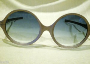 VINTAGE RIVIERA'S OPTICAL  ROUND SUNGLASSES EYE-CYCLES