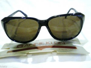 VINTAGE SUNGLASSES ANNE KLEIN LARGE  MOD.AUDREY  58-20-135 HAND MADE IN  ITALY