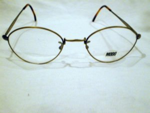 NEW  EYEGLASSES ORIGINAL MODO MOD.166 ANTIQUE GOLD 50-21-145