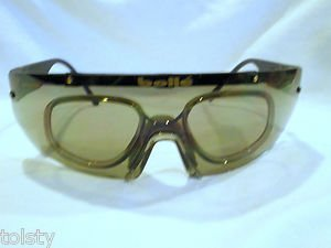 SUNGLASSES BOLLE LARGE SPORT WITH OPTICAL RX INSERT MAT BLACK UNIQUE